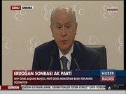 Bahçeli, Erdoğan'a meydan okudu!