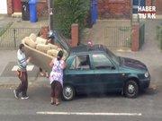 Kanepeyi arabaya sığdırmak
