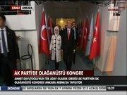Erdoğan kongre salonuna girişi
