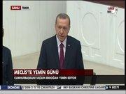 Erdoğan yemin etti