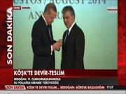 Gül'e Devlet Şeref Madalyası takdim edildi