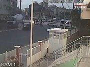 Karaman'da beton mikseri faciası