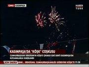 """Kasımpaşa'da """"Köşk"""" kutlaması!"""