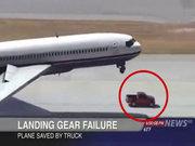 Böyle uçak inişi görülmedi