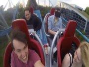 Oculus Rift ile hız treni birleşirse
