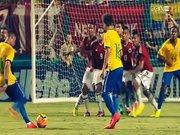 Neymar'dan harika bir frikik golü daha!