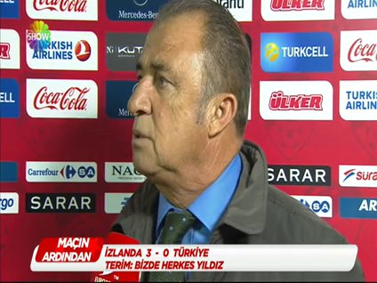 Fatih Terim maç sonrası açıklamalarda bulundu