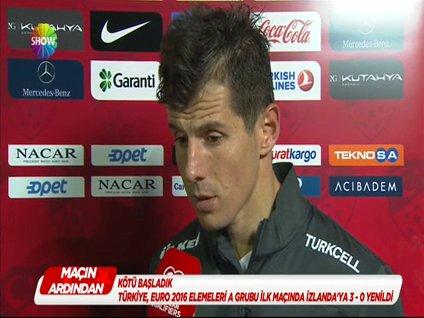 Emre Belözoğlu maç sonrası açıklamalarda bulundu