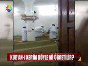 Kur'an kursunda öğrenciye işkence!