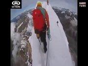 Bu dağın tepesinde yürümek çılgınlık