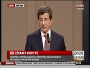 Davutoğlu KKTC''ye gidiyor