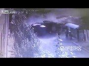 Korkunç TIR kazası kamerada