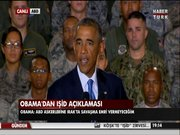 Obama'dan IŞİD açıklaması!