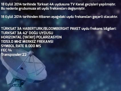 Habertürk TV frekansları değişti
