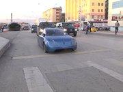 """Elektrikli otomobil """"YEREL T1"""" Erzurumda"""