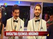 Boğaz'da eşcinsel düğün!
