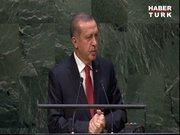 Erdoğan BM Genel Kurulunda konuştu