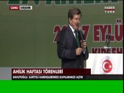 Başbakan Ahmet Davutoğlu Kırşehir'de konuştu