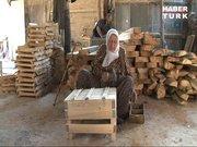 105 torunu olan 90 yaşındaki Lütfiye nine gençlere taş çıkarıyor