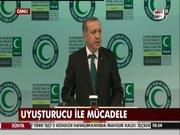 """Erdoğan """"Uyuşturucu ve Halk Sağlığı Sempozyumunda"""" konuştu"""