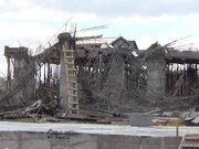 Üniversite inşaatı çöktü