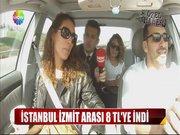 İstanbul İzmit arası 8 TL'ye indi!