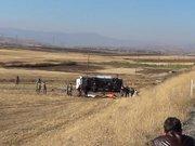 Elazığ'da askeri araç devrildi! Şehitler var