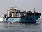 Süveyş Kanalı'nda dev gemilerin çarpışma anı