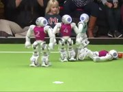 Türkiye-Almanya arasındaki robot maçı