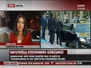 Davutoğlu-Stoltenberg görüşmesi