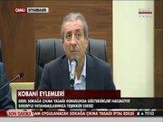 Mehdi Eker Kobani eylemleriyle ilgili açıklamalarda bulundu