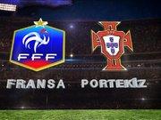 Fransa - Portekiz / Bu akşam 21.45