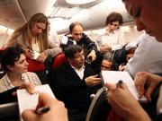 Başbakan uçakta konuştu