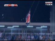 Sırbistan-Arnavutluk maçında büyük olay!