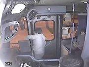 Gaspçı şoförün gazabına uğradı!