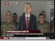 Erdoğan, Kabil'de Türk askerine böyle hitap etti