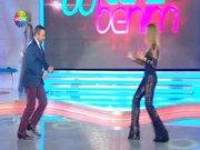 Bu Tarz Benim'de Mustafa Topaloğlu ve Ivana Sert'ten olay dans