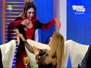 Gizem Güler 'Tarz'nı cadı kostümüyle buldu!