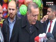 Cumhurbaşkanı Erdoğan şehir turu attı