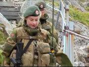 Norveç'in kadın askerleri