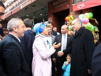 Cumhurbaşkanı Erdoğan'ın semt turu