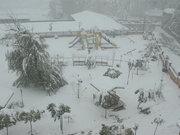 Yurda ilk kar düştü!