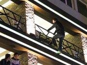 3. kattan atlayıp ölmek istedi!