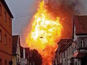Almanya'da patlama; 1 ölü 11 yaralı