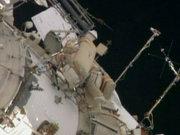 Astronotlar görev başında!