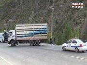 Tunceli - Erzincan karayolu ulaşıma kapatıldı