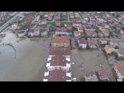Kocaeli'nde evler sular altında