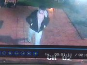 Çaldığı parayı güvenlik kamerasının önünde saydı!