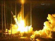 NASA'nın roketi havada infilak etti