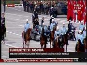 Cumhuriyet 91. yaşında